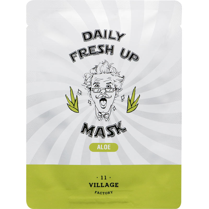 Village 11 Factory Daily Fresh Up Mask Aloe Maska za lice sa Alojom