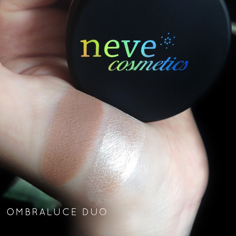 Neve Cosmetics Ombraluce Mineral Contouring Kit Bronzer i Hajlajter set