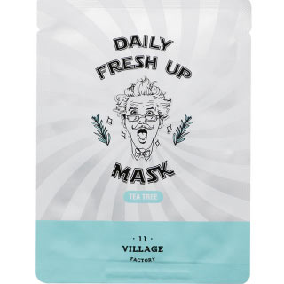 Village 11 Factory Daily Fresh Up Mask Tea Tree Maska za lice sa drvetom čaja