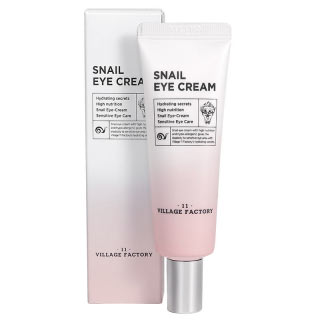 Village 11 Factory Snail Eye Cream Krema za oko očiju Puž