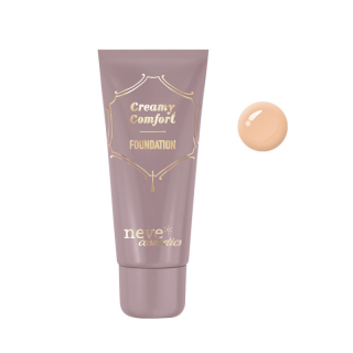 Neve Cosmetics Creamy Comfort Foundation Tečni Puder Tan Neutral