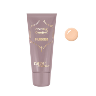 Neve Cosmetics Creamy Comfort Foundation Tečni Puder Medium Neutral