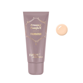 Neve Cosmetics Creamy Comfort Foundation Tečni Puder Light Neutral