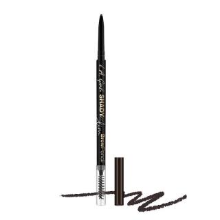 Olovka za obrve L.A. Girl Shady Slim Brow Pencil - Blackest Brown