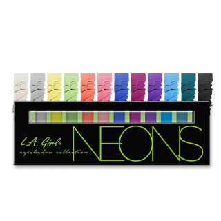 Paleta senki L.A. Girl Beauty Brick Eyeshadow Collection - Neons