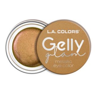 Tečna senka za oči L.A. COLORS Gelly Glam Metallic Eye Color - Queen Bee