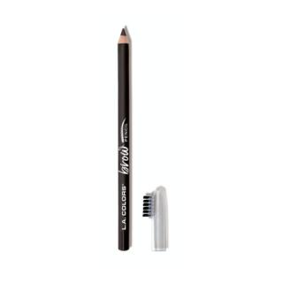 Olovka za obrve L.A. COLORS On Point Brow Pencil - Soft Black