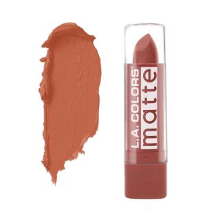 Mat ruž za usne L.A. COLORS Matte Lip Color - Caramel Cream