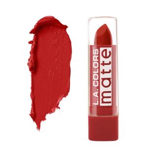 Mat ruž za usne L.A. COLORS Matte Lip Color - Red Tango