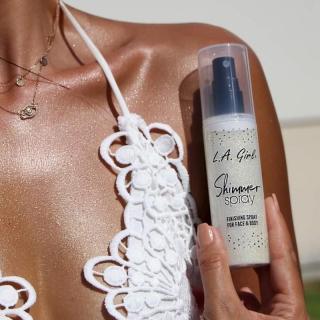 Svetlucavi sprej za lice i telo L.A. Girl Shimmer Spray - Gold