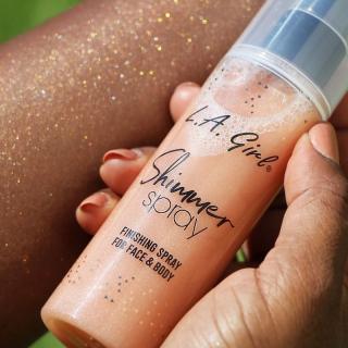 Svetlucavi sprej za lice i telo L.A. Girl Shimmer Spray - Rose Gold